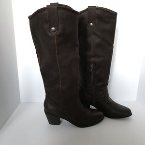 Mossimo Esmeralda Western tall riding boots